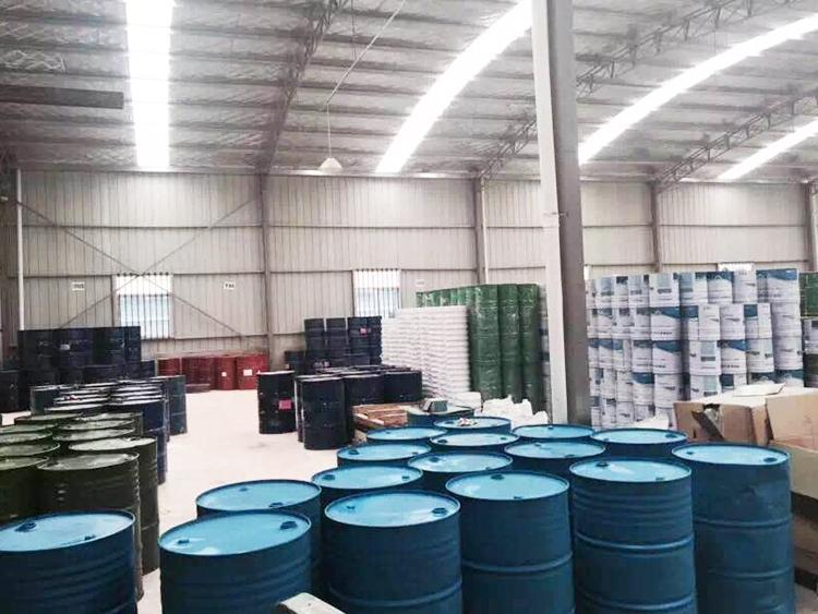 硅pu球场材料仓储基地