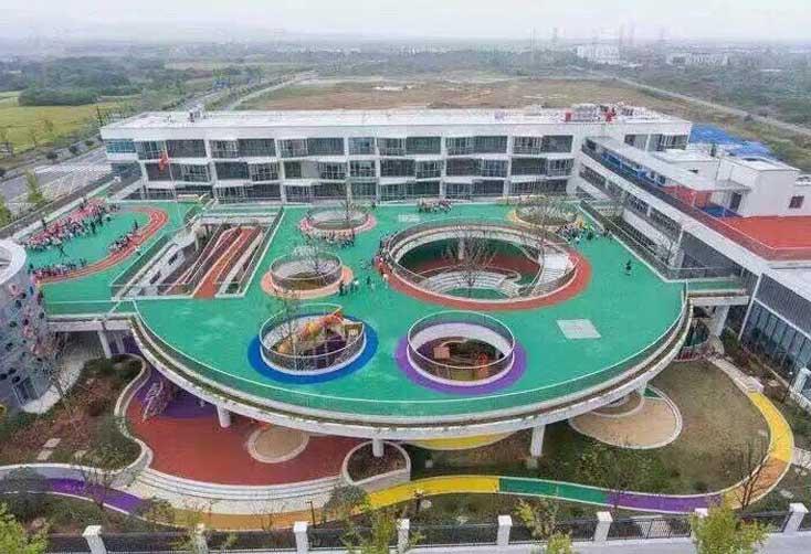 人造草坪厂家屋顶幼儿园